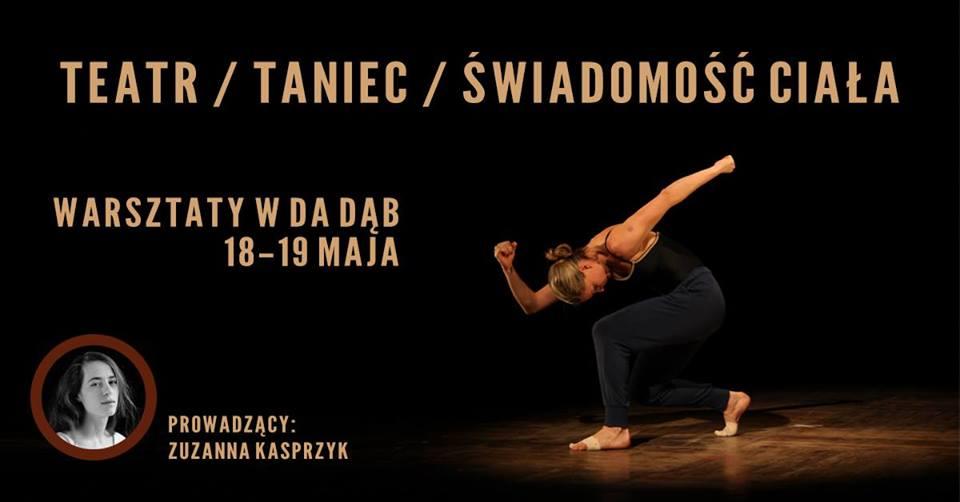 Warsztaty: teatr, taniec, świadomość ciała
